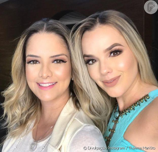 Fãs apontaram semelhança entre Thaeme e Maria Cecilia nesta terça-feira, 7 de agosto de 2018