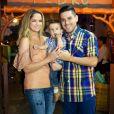 Maria Cecilia e Rodolfo são pais de Pedro, de 1 ano