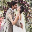 Isis Valverde e André Resende se casaram no dia 10 de junho de 2018, no Rio de Janeiro