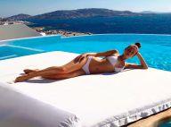 Um arraso! Marina Ruy Barbosa posa em piscina e exibe curvas em viagem. Foto