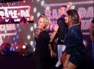Paolla Oliveira curte baile funk no RJ e dança com promoter Carol Sampaio. Fotos