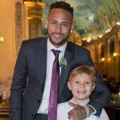 Neymar ganha cartão do filho, Davi Lucca: 'Sempre estarei com você. Te amo, pai'