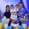 Thais Fersoza e Michel Teló são pais de Teodoro, que completou um ano em junho de 2018