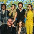 Os 12 participantes da 15ª temporada do 'Dança dos Famosos' do 'Domingão do Faustão' foram apresentados neste domingo, 12 de agosto de 2018