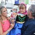 Rafaella Justus comemorou seu aniversário de 5 anos em casa de festas infantis, em São Paulo, neste domingo, 3 de agosto de 2014