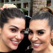 Naiara Azevedo questiona semelhança com Vivian Amorim: 'Somos mesmo parecidas?'
