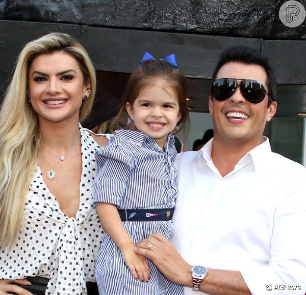 Tal mãe, tal filha! Mirella Santos combina look com Valentina: 'Mirellinha!'