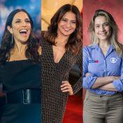 Dira Paes posta foto com Ivete e web aponta 'gafe': 'Cortou Fernanda Gentil'