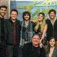 O time masculino fez a estreia no 'Dança dos Famosos' neste domingo, 19 de agosto de 2018