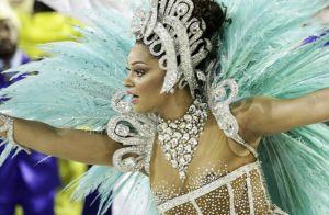 'Saio triste e contra minha vontade', diz Juliana Alves sobre a Unidos da Tijuca