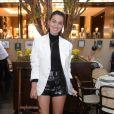 Marina Moschen apostou em produção P&B para evento de joias