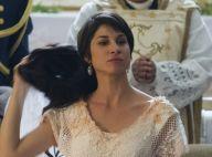 'Orgulho e Paixão':Mariana tira peruca e exibe cabelo curto ao casar com Brandão