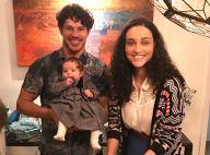 José Loreto, em SP, lamenta saudade da filha e da mulher: 'Amor em casa'