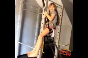 Ticiane Pinheiro filma Rafa Justus pendurada em argolas: 'Acha que é balanço'