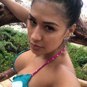 Simone posta foto de biquíni em viagem ao México: 'Uma encolhida na barriga'