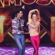 10 de agosto de 2014 - Giovanna fez bonito em sua apresentação na 'Dança dos Famosos'