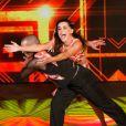 10 de agosto de 2014 - Lucélia Santos foi a revelação do 'Dança dos Famosos' e recebeu elogio de todos os jurados