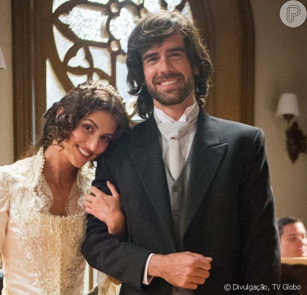 Cecília (Anajú Dorigon) e Rômulo (Marcos Pitombo) conseguem adotar bebê após armação de Josephine (Christine Fernandes) na reta final da novela 'Orgulho e Paixão'