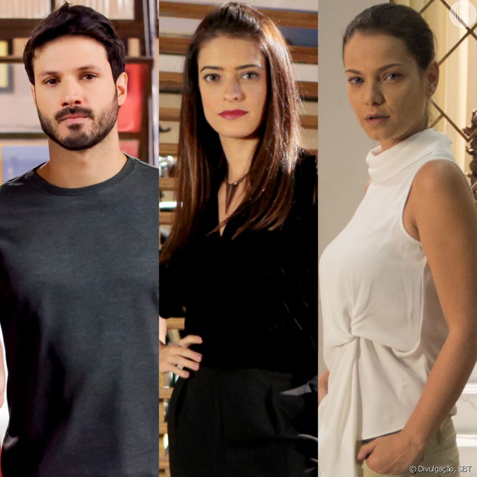 Marcelo (Murilo Cezar) termina o namoro com Débora (Lisandra Cortez) para ficar livre para ir atrás de Luísa (Milena Toscano) na novela 'As Aventuras de Poliana'