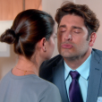Afonso (Victor Pecoraro) beija Luísa (Milena Toscano) e é retribuído na novela 'As Aventuras de Poliana'