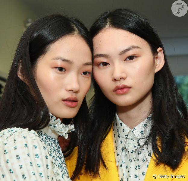 Make fresh nas passarelas da Semana de Moda de Nova York, que vai até 14 de setembro de 2018