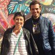 Linda Rojas teve o marido, Caio Barreto, ao seu lado durante os dois diagnósticos e tramentos contra o câncer de mama