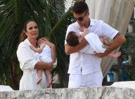 Ivete Sangalo e Daniel Cady batizam filhas, Marina e Helena, em Salvador. Fotos!