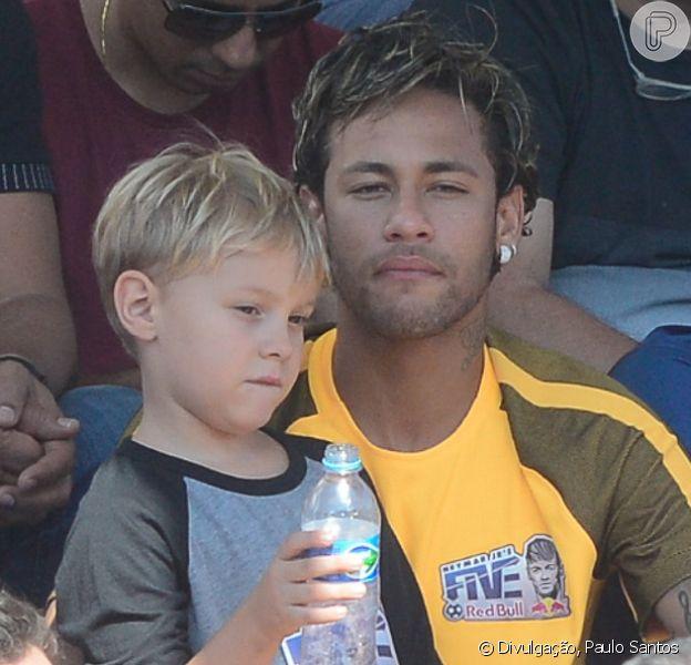 Davi Lucca, filho de Neymar e Carol Dantas, perdeu grande parte das partidas de futebol que estava disputando em um campeonato neste fim de semana
