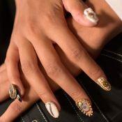 Pingentes e unhas de gelatina dominam as nail arts da Semana de Moda de NY