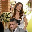 Jéssica Esteves conduziu o pai portador de uma doença neurodegenerativa ao altar