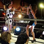 Claudia Leitte e a atriz Mariana Rios cantam juntas no trio no Carnaval da Bahia