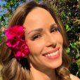 Ana Furtado adotou a crioterapia para evitar a queda do cabelo