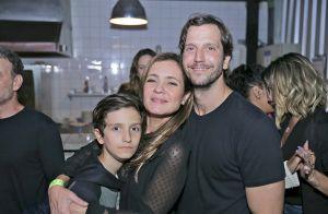 Semelhança entre Vladimir Brichta e filho caçula, Vicente, impressiona em foto