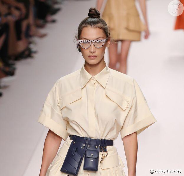 Pochete se firma como tendência também entre grifes de luxo