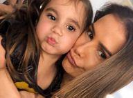 Visita especial! Deborah Secco recebe filha em set de novela: 'Olha quem veio'