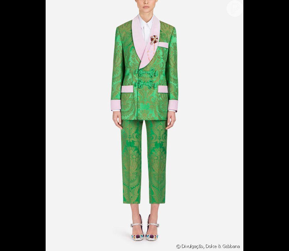 67f27a9ed3 O blazer Dolce & Gabbana usado por Bruna Marquezine custa o equivalente a  R$ 11,6 milo blazer custa o equivalente a R$ 11,6 mil