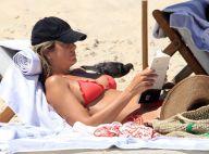 Ticiane Pinheiro curte praia ao lado do marido, César Tralli, no Rio. Veja fotos