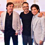 Júnior Lima, Xororó e mais famosos vão a lançamento de filme sertanejo