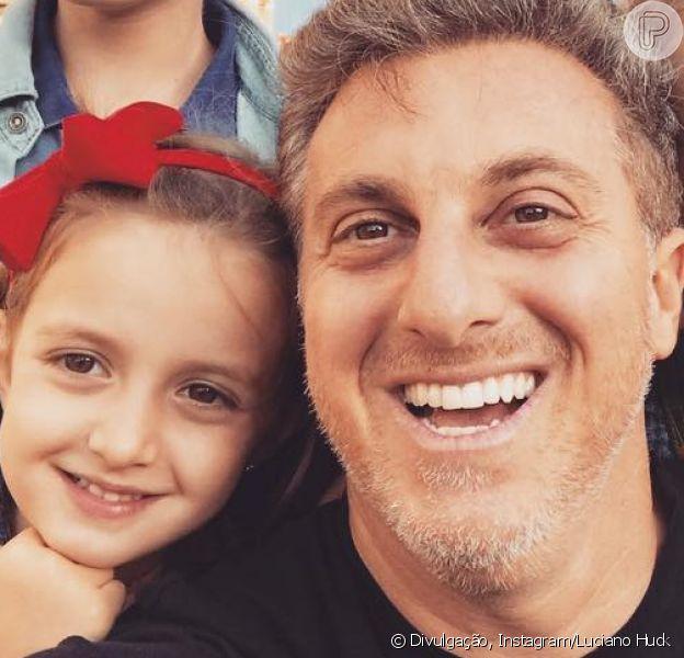 Semelhança entre Huck e a filha, Eva, rouba cena em post de aniversário da menina nesta terça-feira, dia 25 de agosto de 2018
