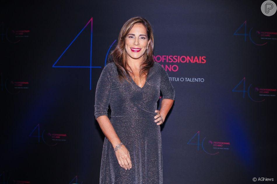 2cb801e85 Gloria Pires prestigiou o Prêmio Profissionais do Ano