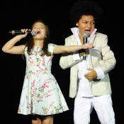 'Criança Esperança 2014': Mel Maia e JP Rufino encantam ao lado de Renato Aragão