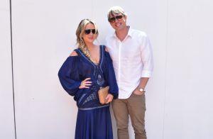 Eliana e Adriano Ricco vão a casamento de Luiza Possi: 'Amiga querida'. Fotos!