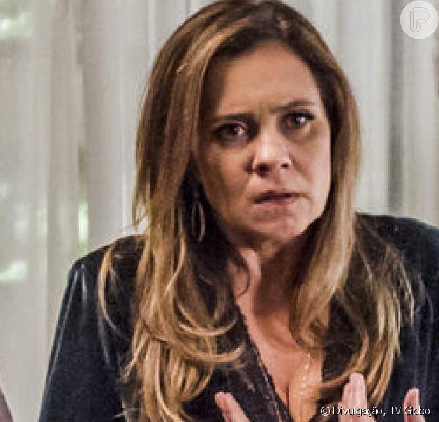 Em 'Segundo Sol', Laureta (Adriana Esteves) é presa após matar Du Love (Ciro Sales)