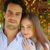 Marina Ruy Barbosa recorda 1 ano de casamento no religioso: 'Felicidade e amor'