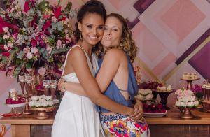 Juliana Alves e mais famosos prestigiam aniversário de Aline Dias. Fotos!