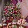 O Bem Me Quer Festas ficou responsável pela decoração do aniversário de Aline Dias