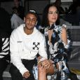 Neymar Jr and his girlfriend Bruna Marquezine attend the Off-White show as part of the Paris Fashion Week Womenswear Spring/Summer 2019 on September 27, 2018 in Paris, France. (Photo by Pierre Suu/Getty Images)