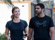 Grazi Massafera elogia namorado por sucesso em prova de triathlon: 'Lindo'