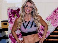 Karina Bacchi malha e faz festa em academia para comemorar os 42 anos. Fotos!
