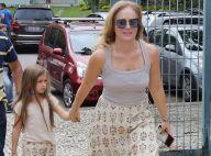 Angélica combina look com a filha, Eva, ao votar em seção do Rio. Fotos!